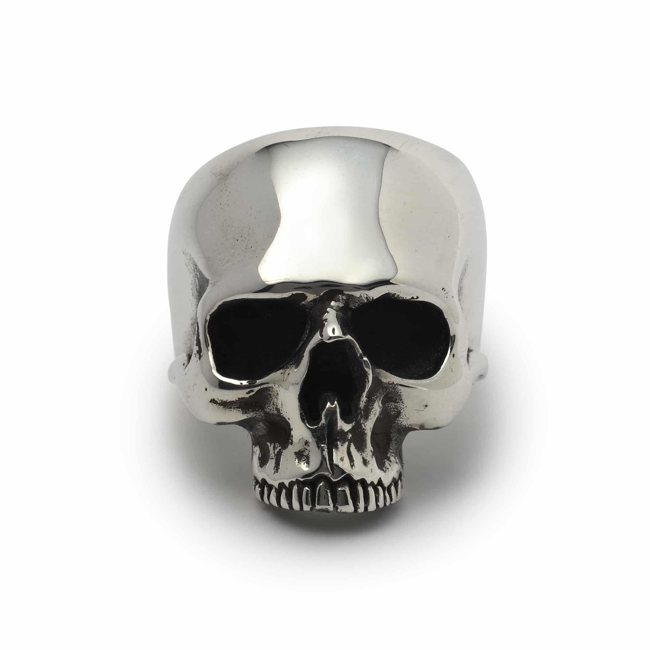 Jawless Anatomical Skull Ring The Great Frog