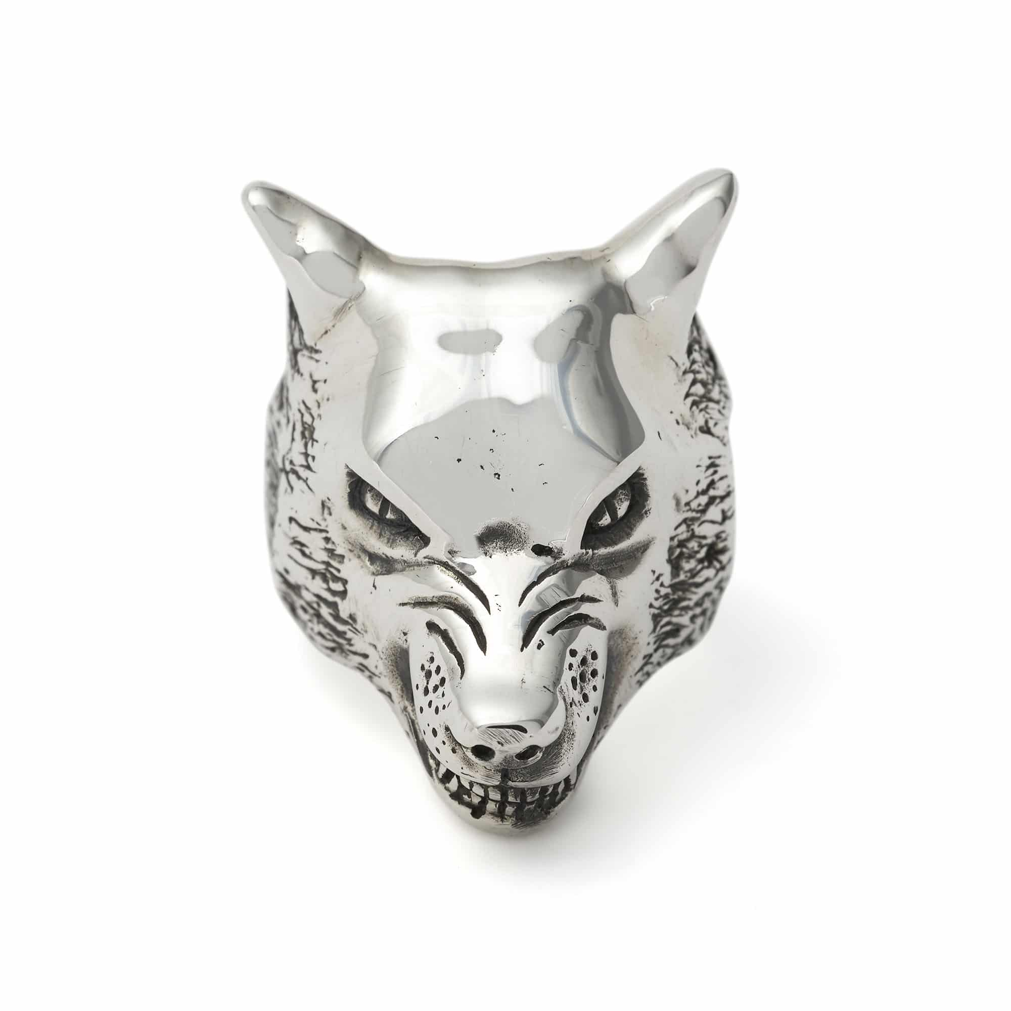 Large Wolf Ring The Great Frog