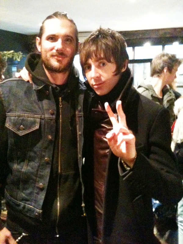 Miles Kane Christmas Shopping at The Great Frog