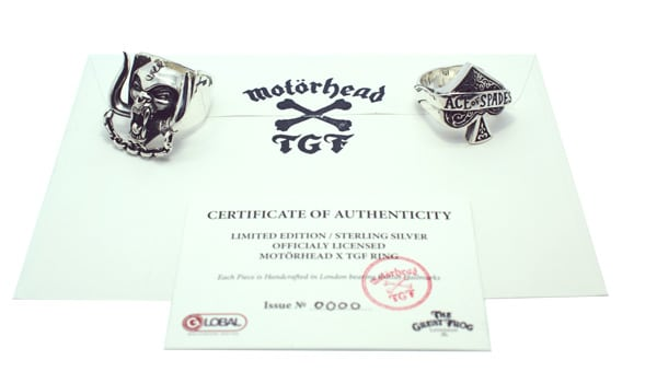 The Great Frog x Motörhead Collaboration