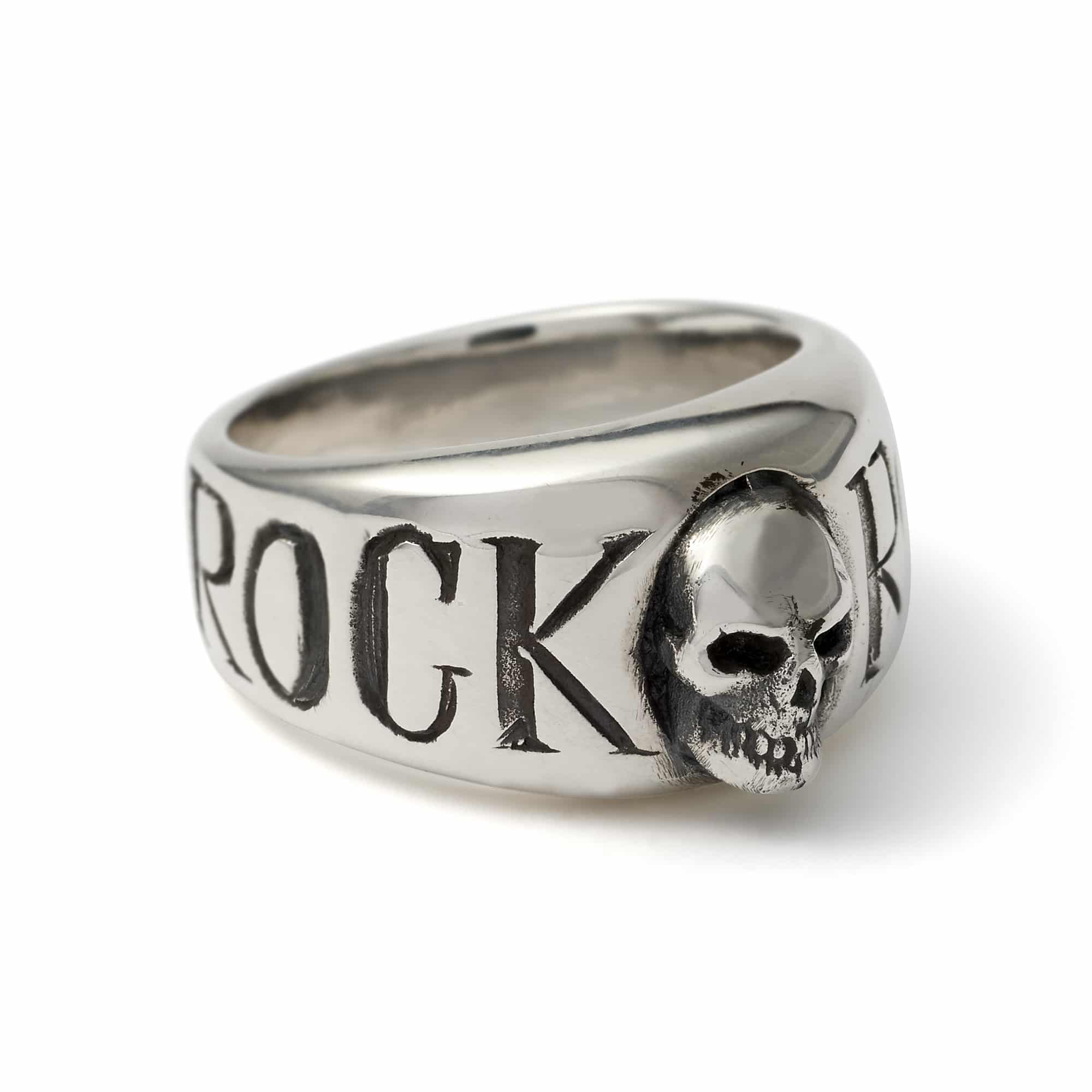 Rock 'n' Roll Skull Ring – The Great Frog