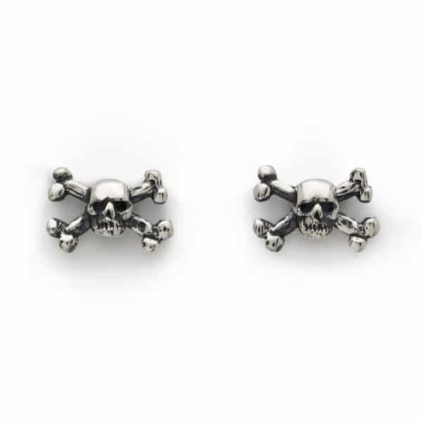 skull-and-crossbones-ear-studs