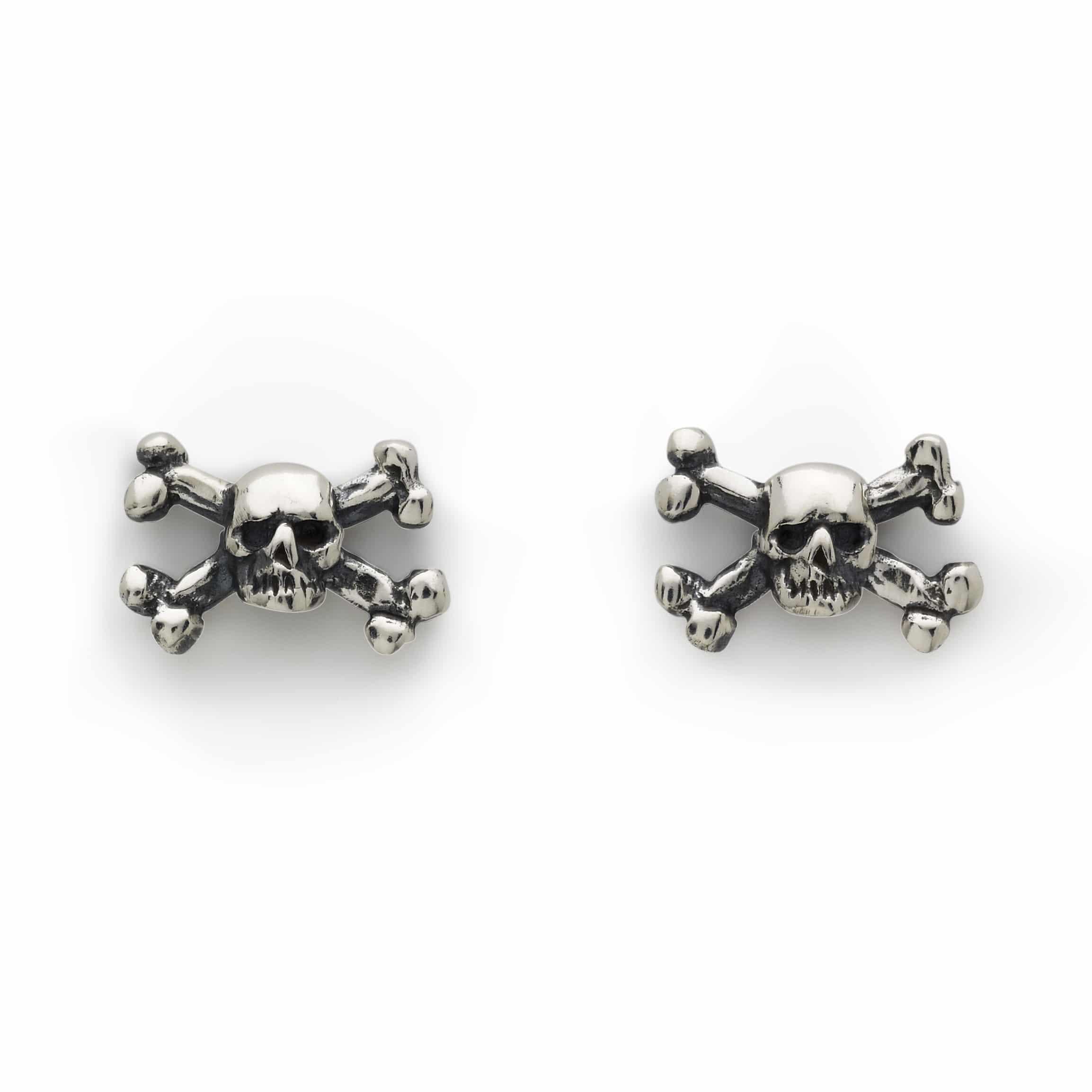 Home Jewellery Earrings Skull Crossbones Studs