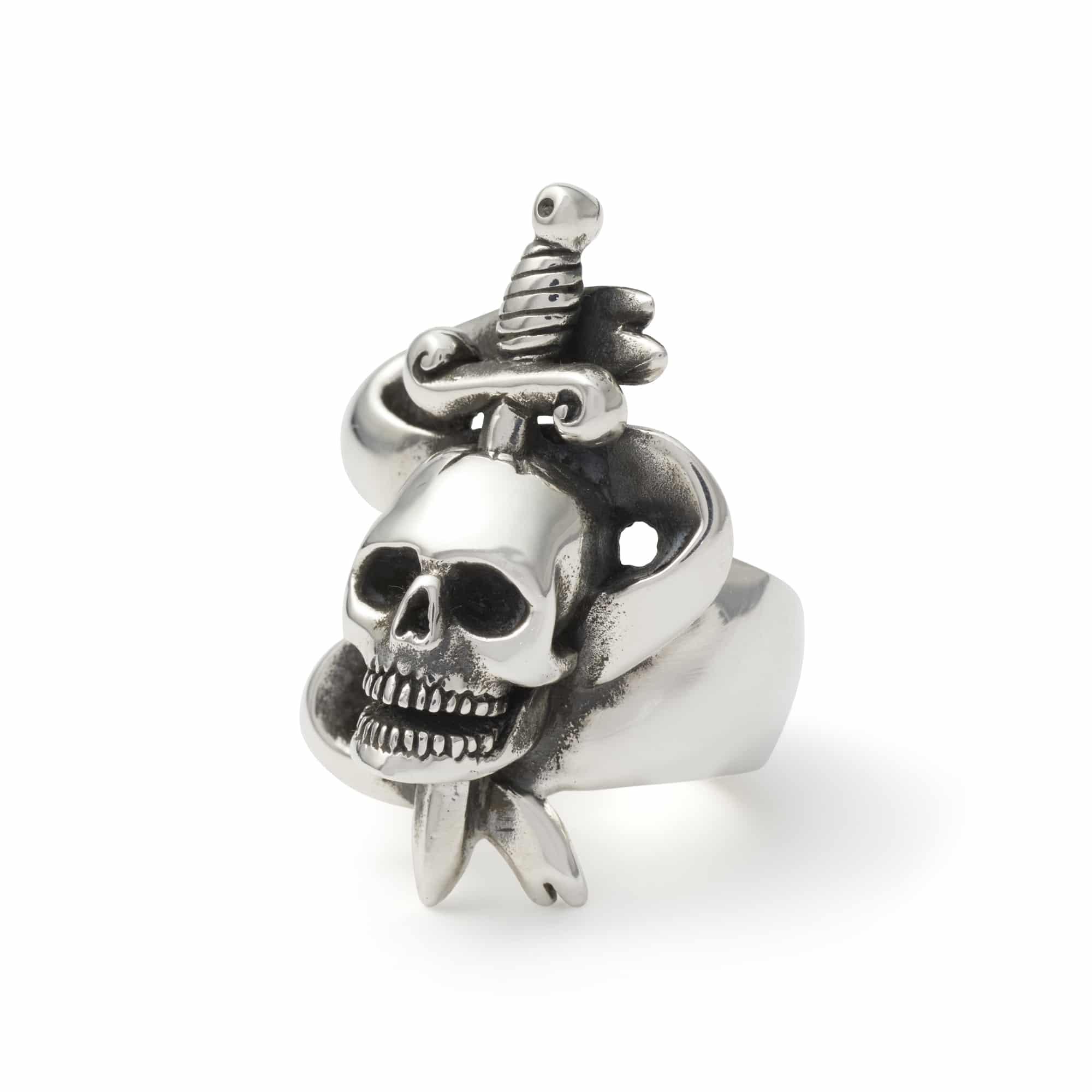 Skull Amp Dagger Ring The Great Frog
