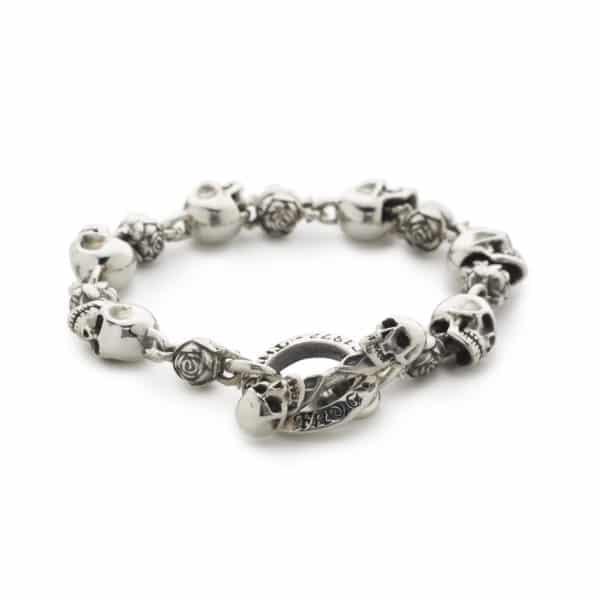 skull-and-roses-bracelet-front