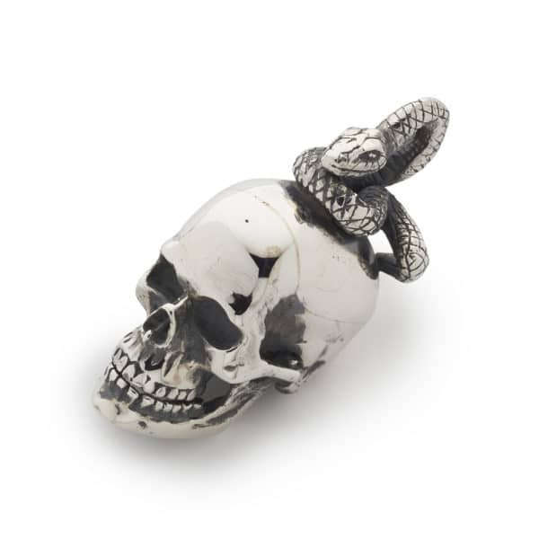 skull-with-snake-pendant-front